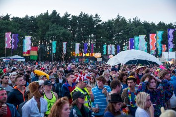 Main Stage Crowd, Beatherder Festival
