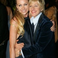 The sweetest couple ever: Ellen and Portia