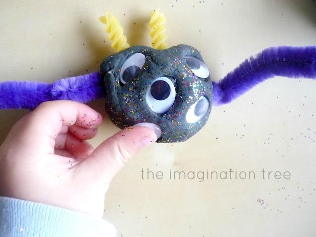 Monster play dough