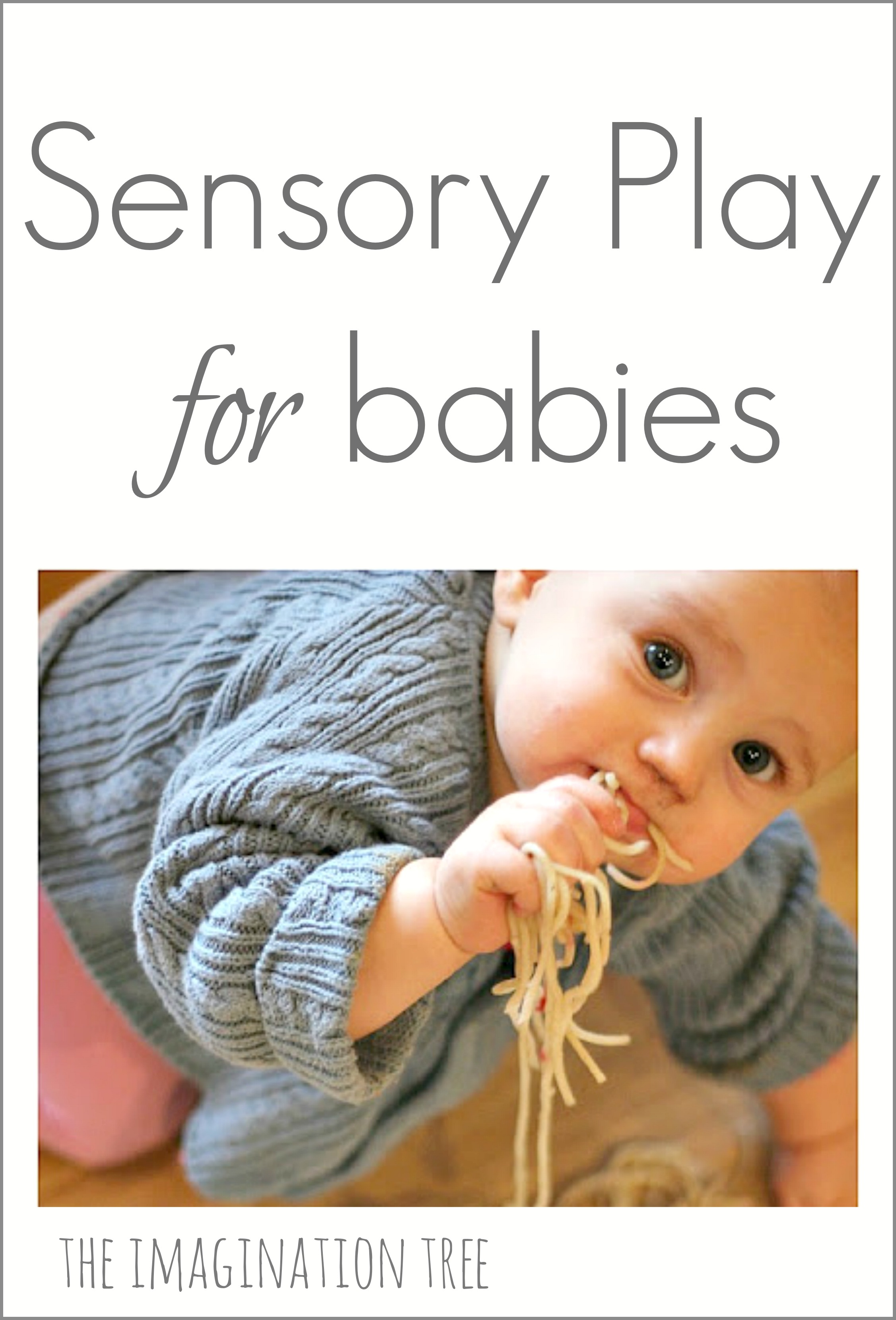Sensory Play Activities For Babies