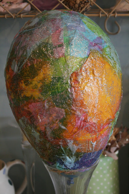 Paper Mache Easter Egg  The Imagination Tree