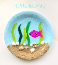 Under the Sea Paper Plate Craft - The Imagination Tree