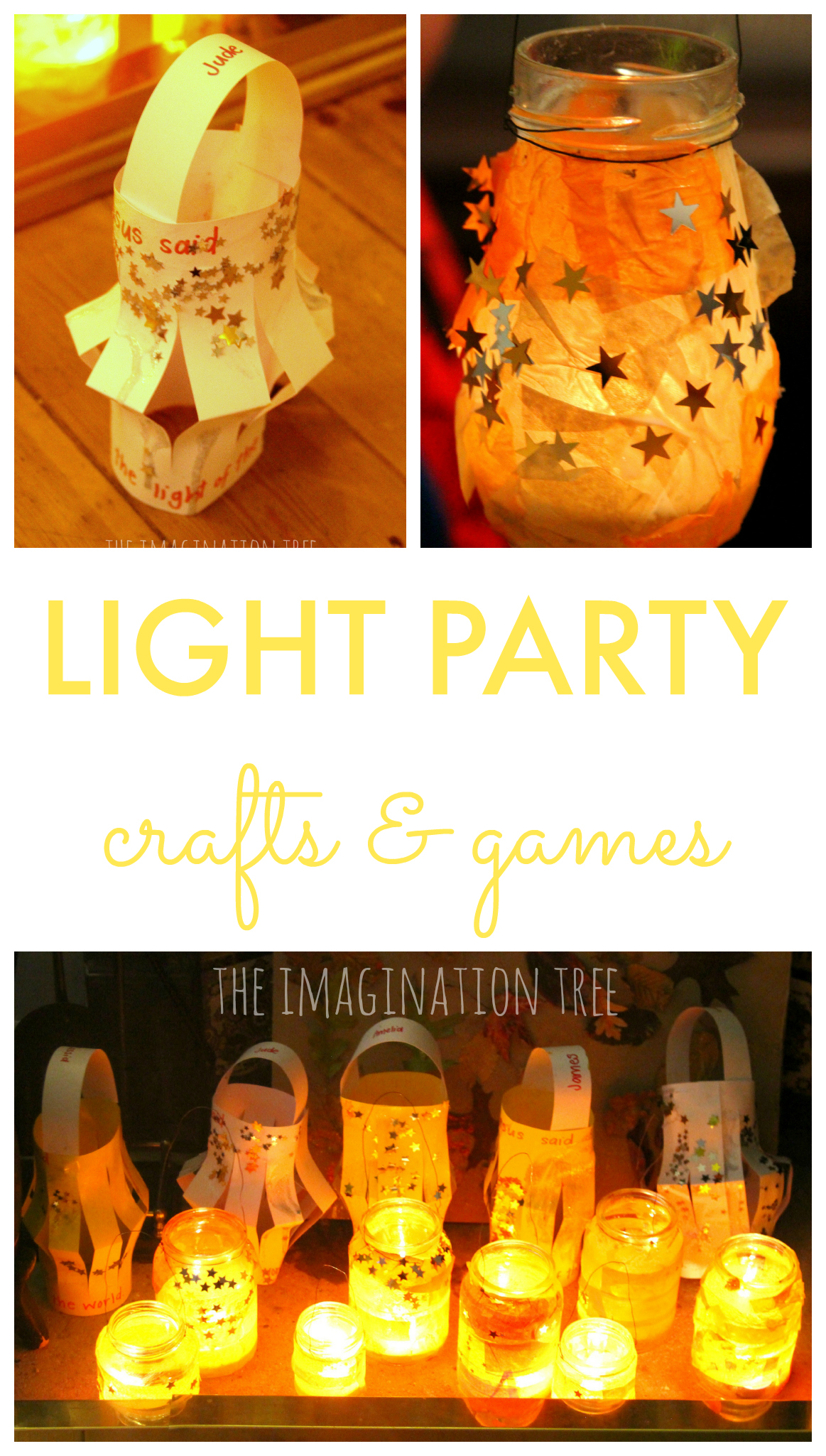 light party crafts and