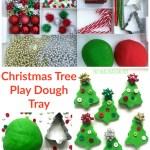 Christmas Tree Play Dough Tray The Imagination Tree