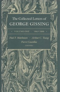 collected letters of george gissing