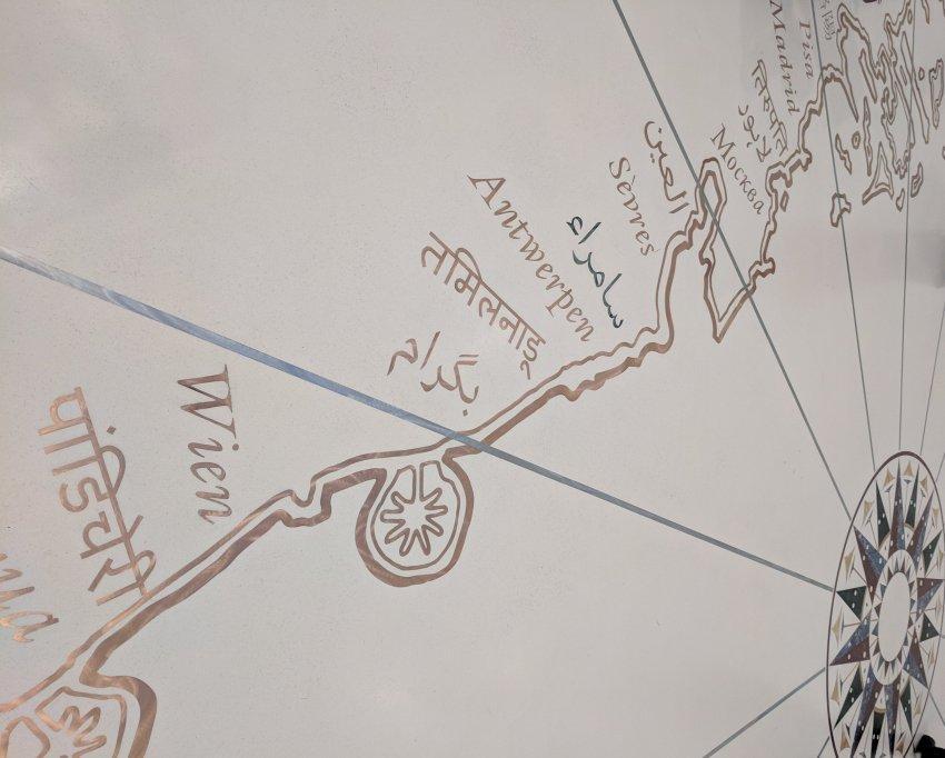 Louvre Abu Dhabi Map