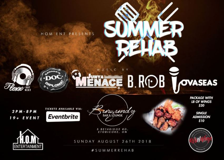 Summer Rehab Party