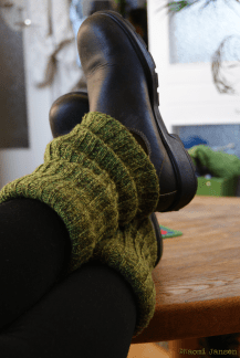 13) L is for Legwarmers