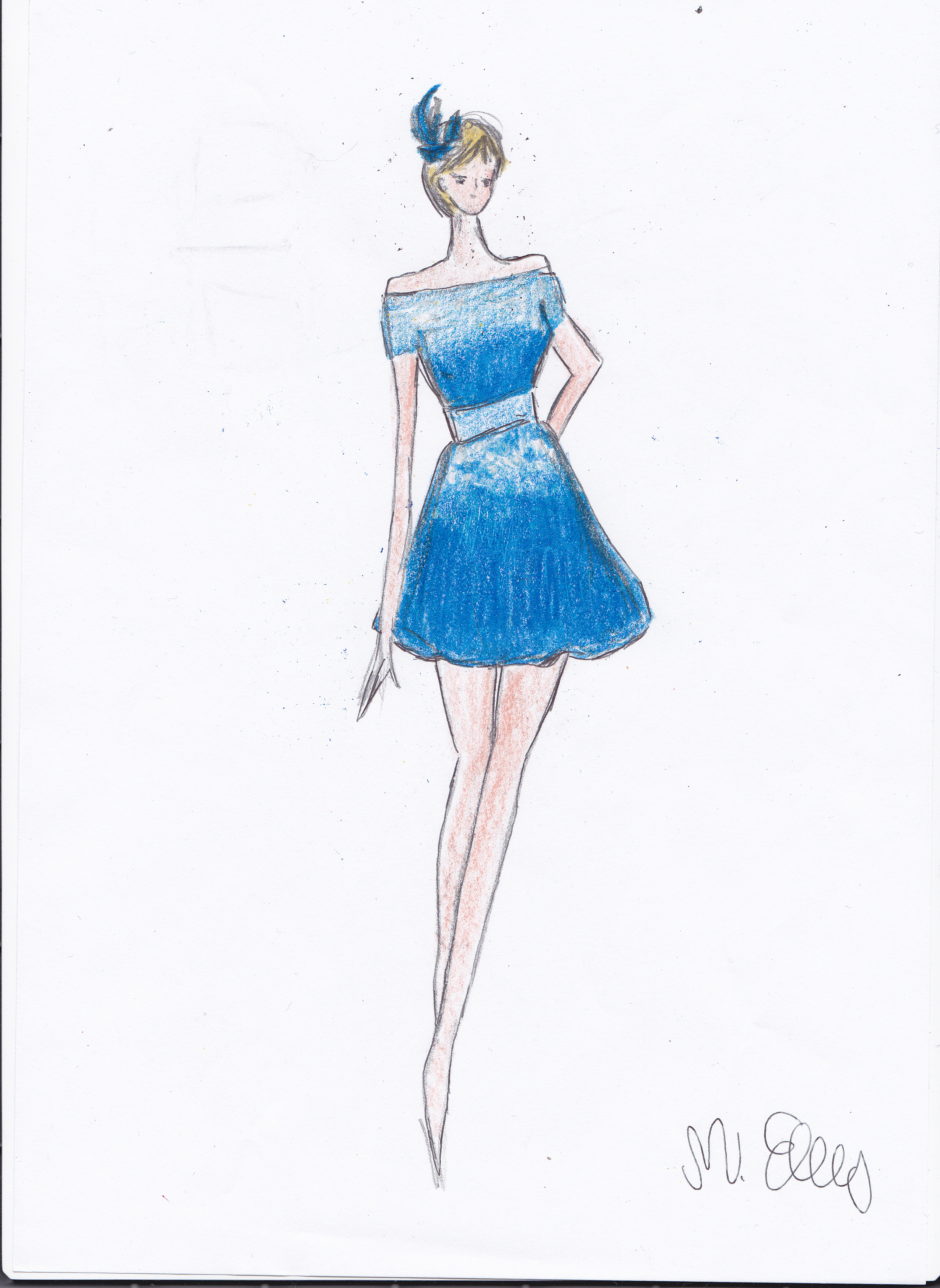 Blog di moda Italia Disegni di vestiti da sera