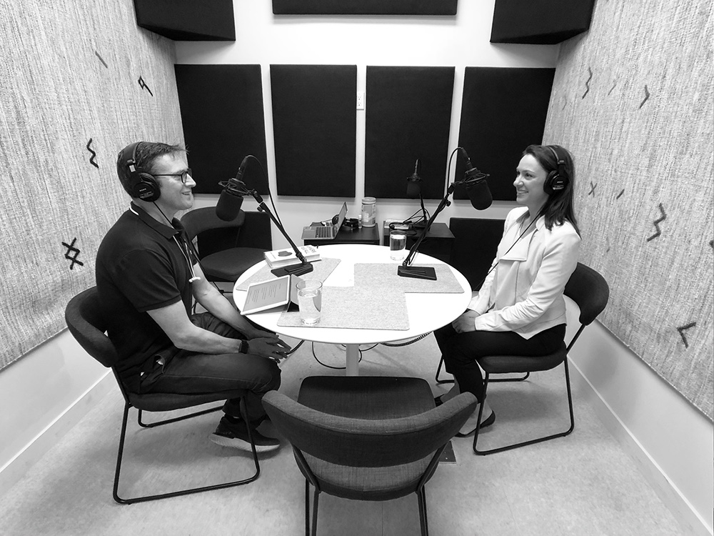 Natalie Bridgemann Fields and Mark Fallows interview for podcast The Impossible Network