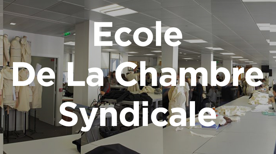Top ten fashion colleges the impression for Chambre de syndicale