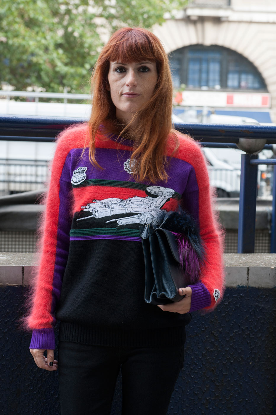 The Best Of London Fashion Week Street Style Day 5 The Impression