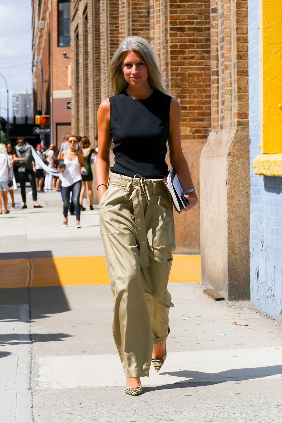 The Best Of New York Fashion Week Street Style Day 4 The Impression