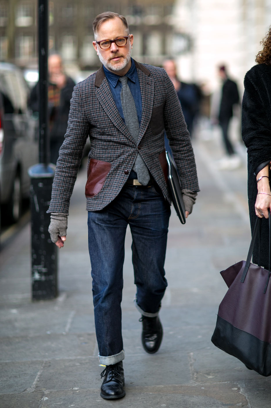 The Best Of London Men S Fashion Week Street Style Day 2 The Impression