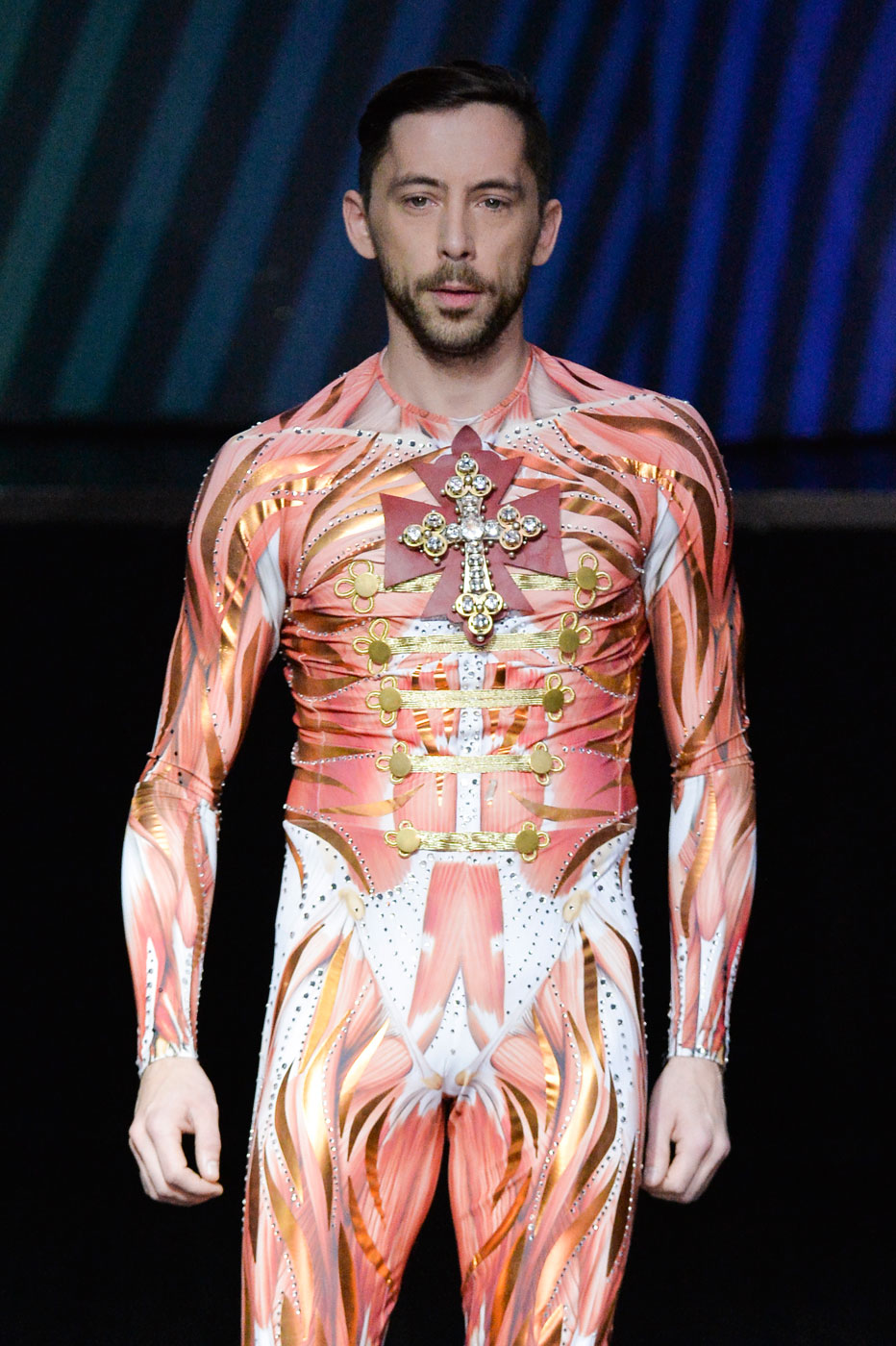 On aura tout vu couture spring 2015 fashion show the for Haute couture male