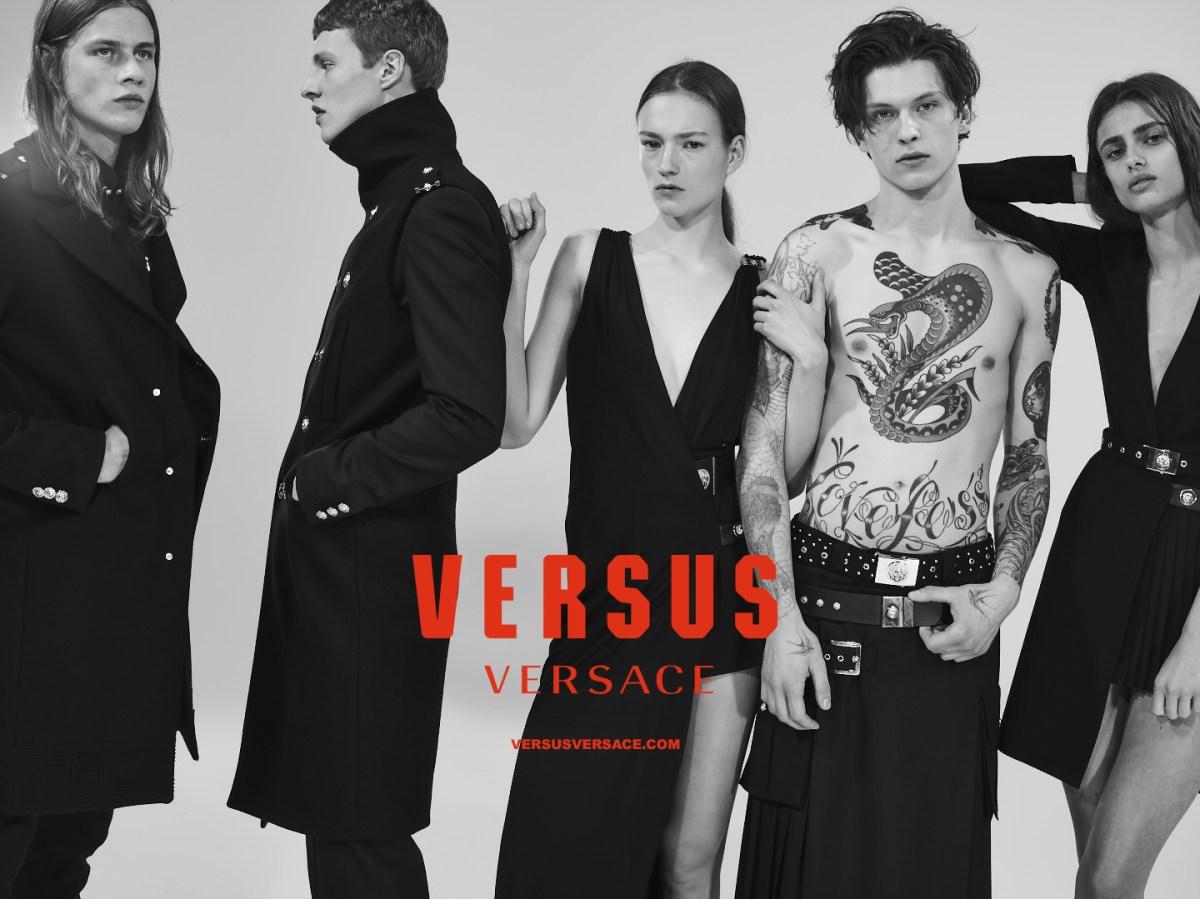 Versus Versace FW15 ad campaign by Collier Schorr