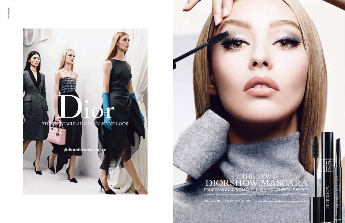 Diorshow beauty Ondria Hardin photo