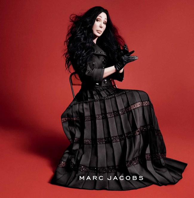 marc Jacobs ad fall 2015 cher photo