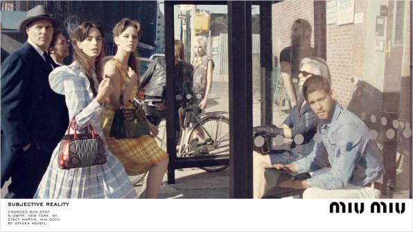 Miu Miu Fall 2015 Ad campaign Steven Meisel Giovanni Bianco photo