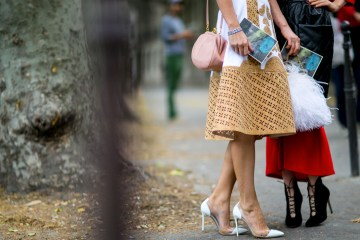 top paris couture fall 2015 street style photos