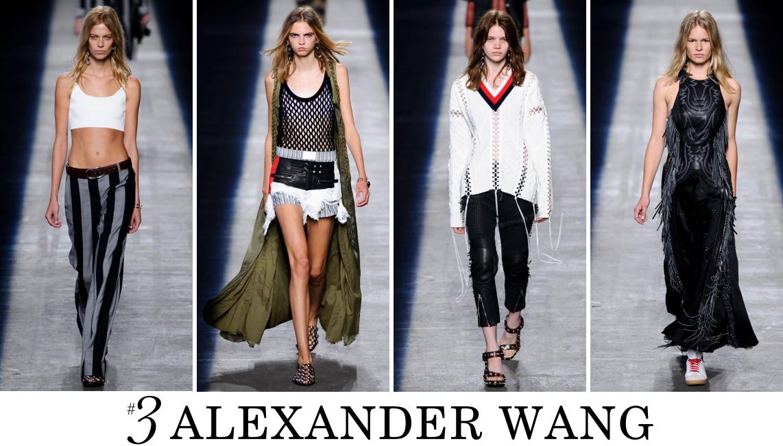 Alexander Wang Spring 2016 top 10