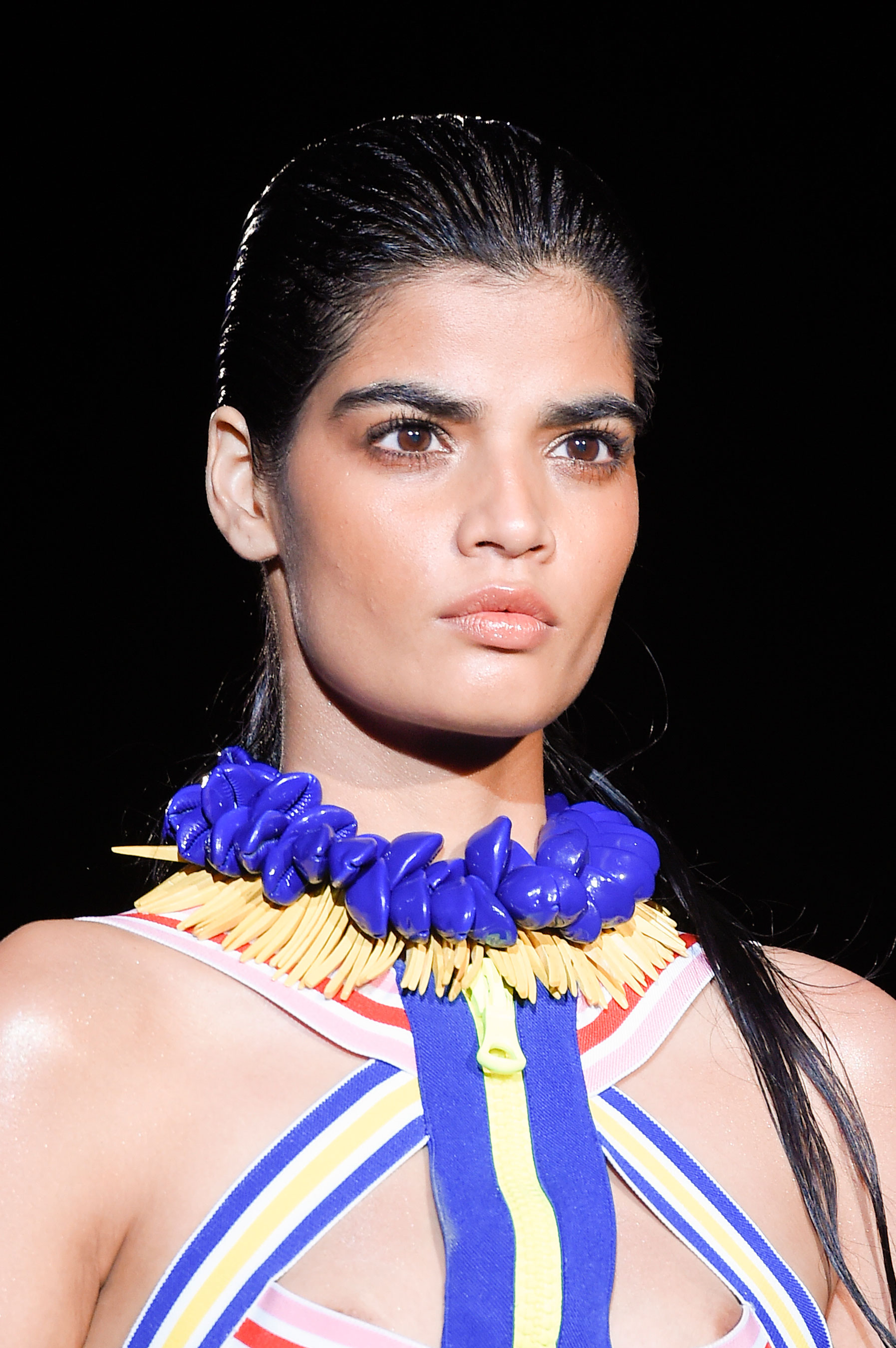 DSquared2-runway-beauty-spring-2016-fashion-show-the-impression-012