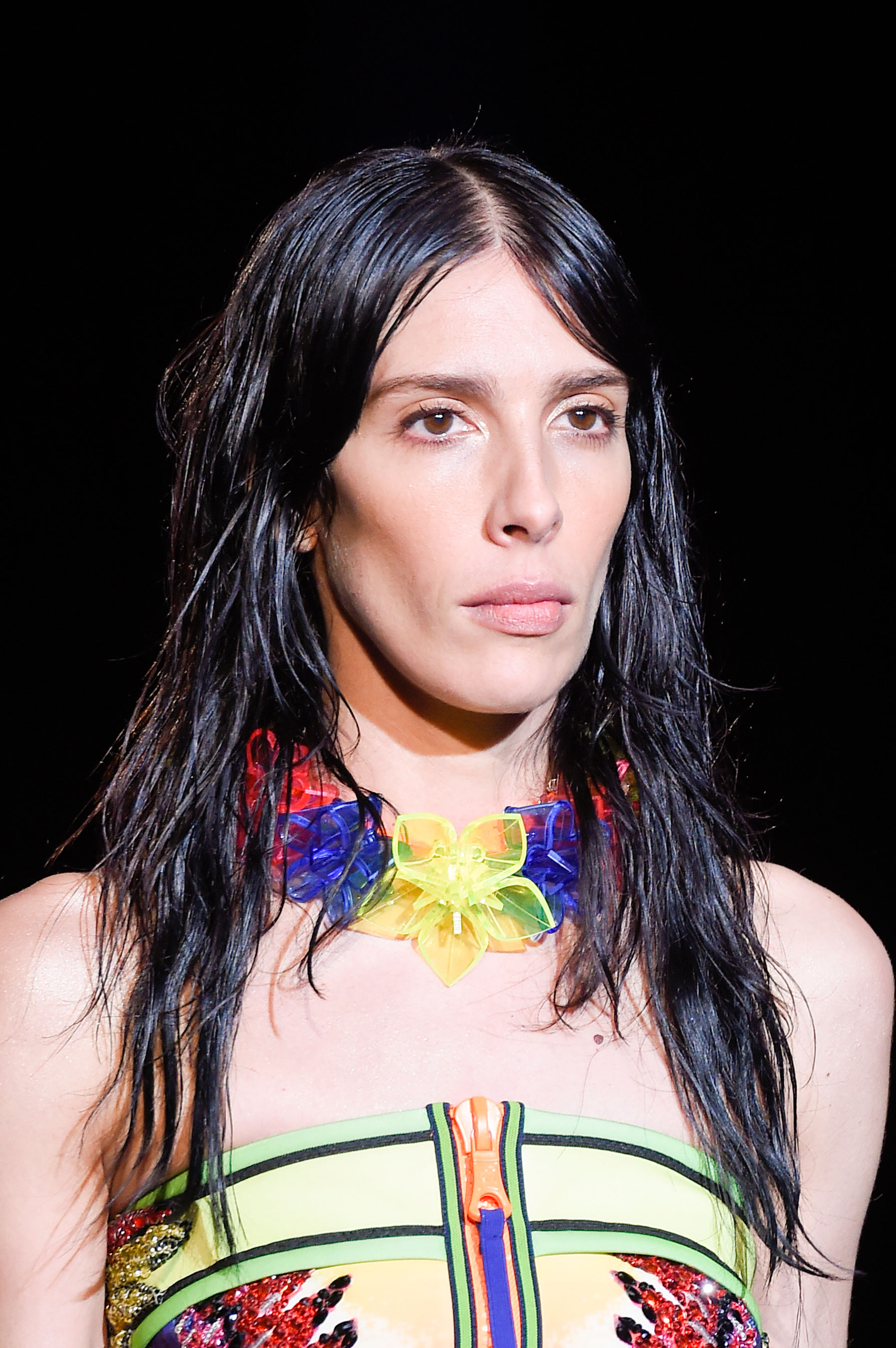 DSquared2-runway-beauty-spring-2016-fashion-show-the-impression-038