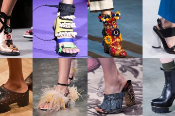 Milan Fashion Show Shoes spring 2016 photo