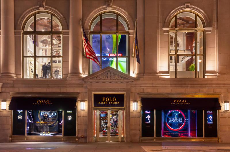 Polo Ralph Lauren's Holographic Windows the impression-1