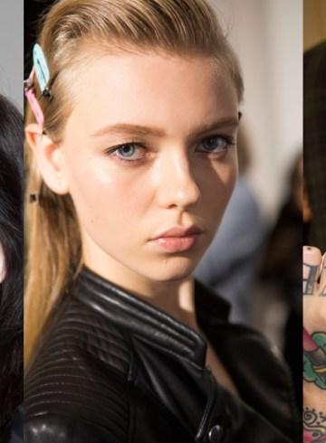 Roberto Cavalli Spring 2016 Fashion Show Backstage Beauty Photo