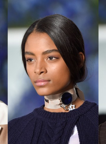 CHRISTIAN DIOR Spring 2016 runway beauty photo