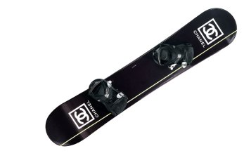 Chanel Snowboard Photo