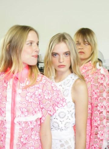 Emanuel Ungaro Spring 2016 Fashion Show backstage Photo