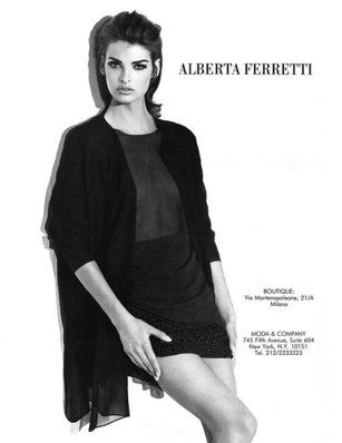 Alberta Ferretti FW 1990
