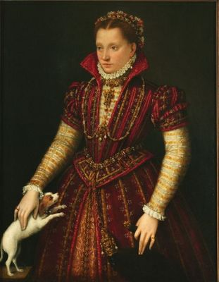 Portrait of a Noblewoman, Lavinia Fontana   1580