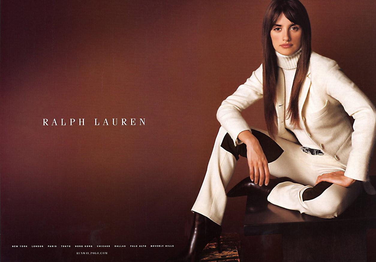 Ralph_Lauren_Fall_2001_Penelope_Cruz_Advertisement_1