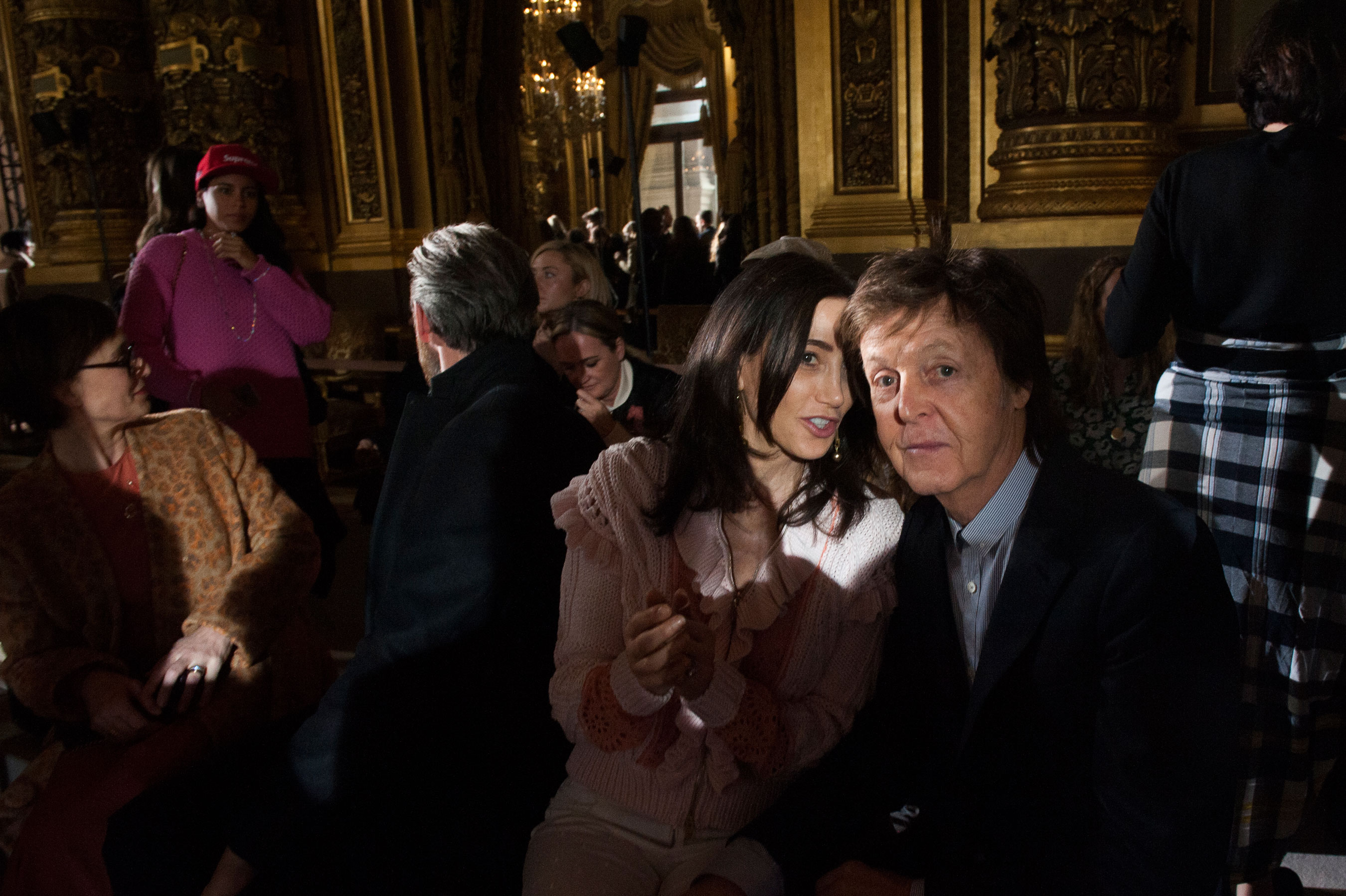 Nancy Shevell & Sir Paul McCartney at Stella McCartney
