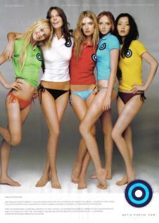 Daria Werbowy, Du Juan, Lily Cole, Lily Donaldson, Sasha Pivovarova - 2008