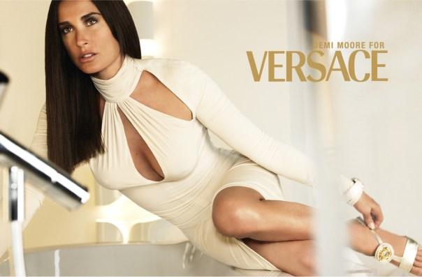 Versace FW 2005 Demi Moore