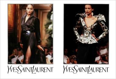 Yves Saint Laurent FW 1989