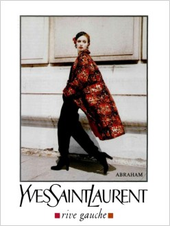 Yves Saint Laurent Rive Gauche FW 1993
