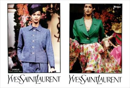 Yves Saint Laurent SS 1993
