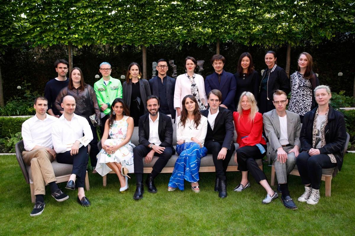 BFC Fashion Trust Recipients Announcement (Darren Gerrish, British Fashion Council)