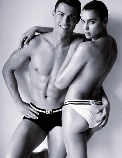 Irina Shayk & Cristiano Ronaldo, Vogue Spain   June 2014