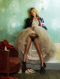 Kate Moss, British Vogue   2009