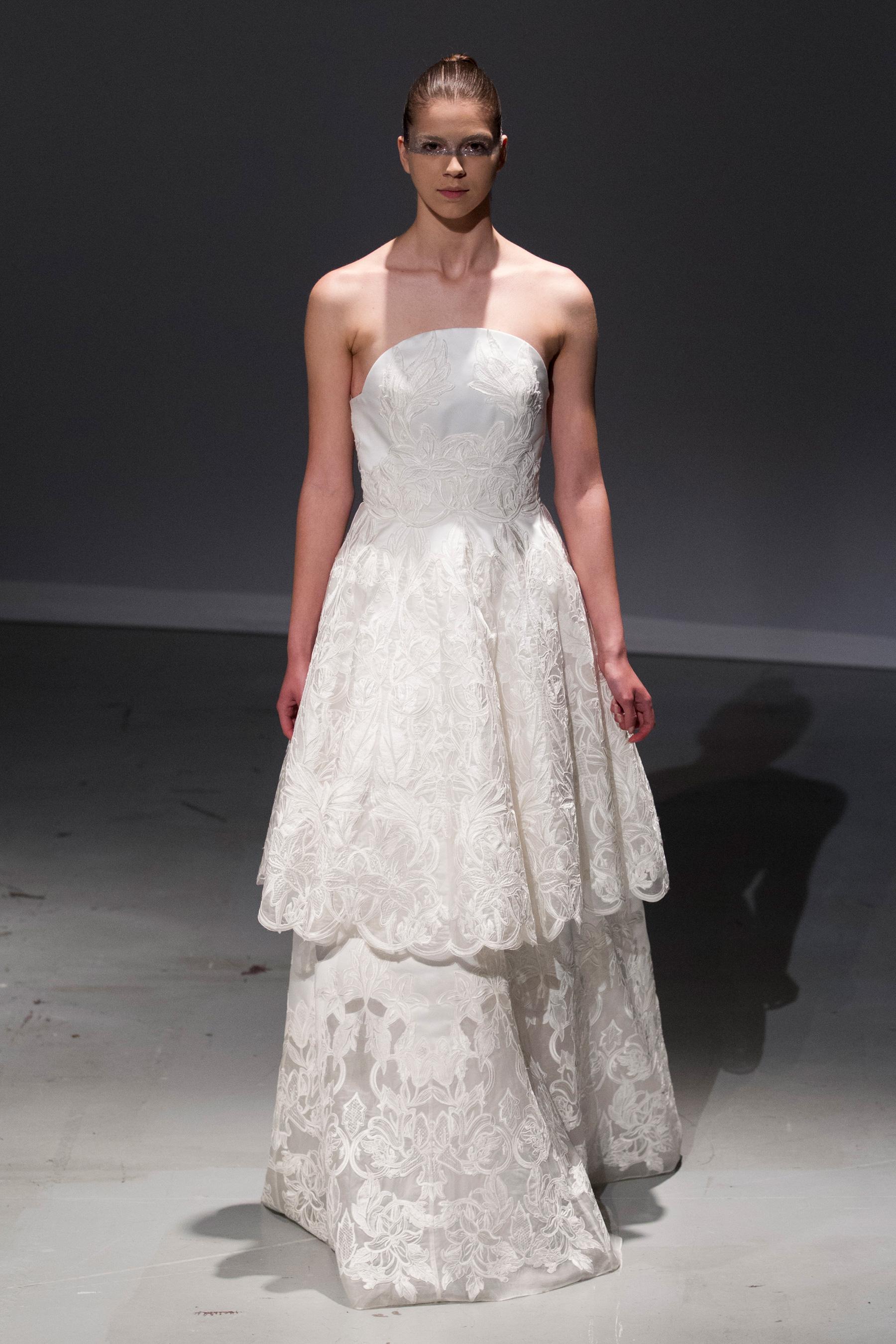 David Fielden   Bridal Spring 2017 - The Impression