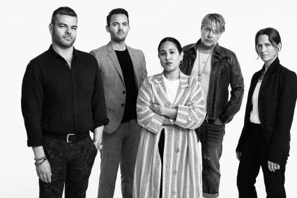 Mark Beckham, Andrew Lister, Gayle Dizon, Michael Macko, Laura McMullin