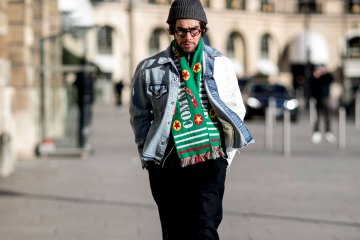 Paris Men's Fashion Week Street Style Day 1 Fall 2017