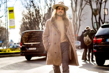 Milan Men's Fashion Week Street Style Day 1 Fall 2017