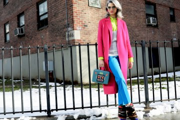 New York Fashion Week Street Style Day 3 Fall 2017 by Myoungsoo Lee